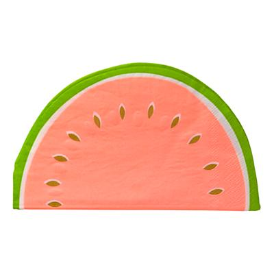 Set of 16 Watermelon Napkins