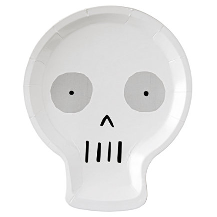 - Halloween Skull Plates (set Of 12)