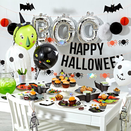 Kids Halloween Party Collection - Halloween Cat Napkins (Set of 16)