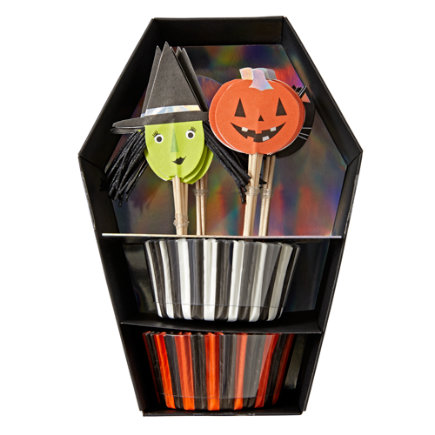 - Halloween Cupcake Kit (Set of 24)