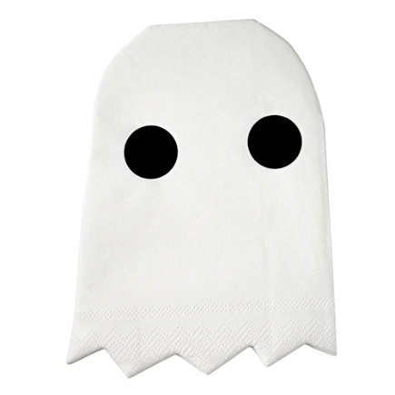 - Halloween Ghost Napkins (Set of 20)