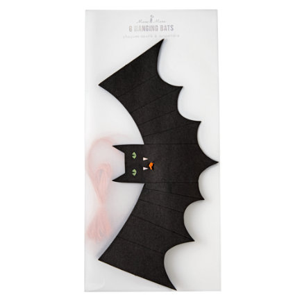 - Halloween Hanging Bats (Set of 8)