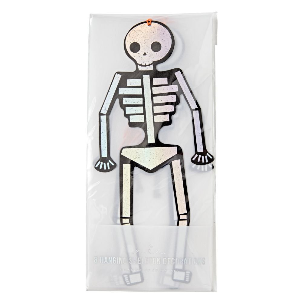 Halloween Hanging Skeletons (Set of 8)