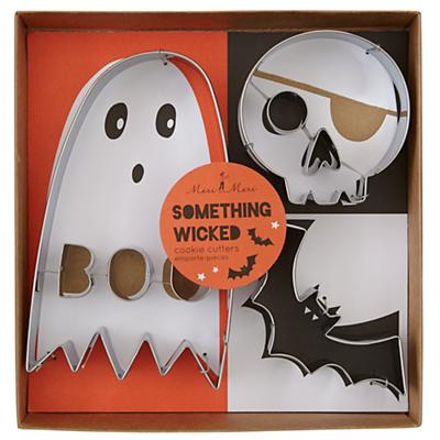 Halloween Party Cookie Cutters (Set of 3)