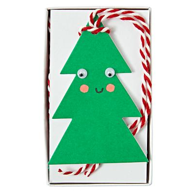 Happy Tree Gift Tags
