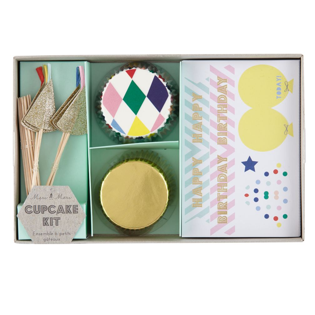 Toot Sweet Harlequin Cupcake Kit (Set of 24)