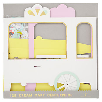 Ice Cream Party Centerpiece