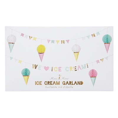 Ice Cream Party Garland