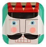 Large Nutcracker Plates (Set of 8)