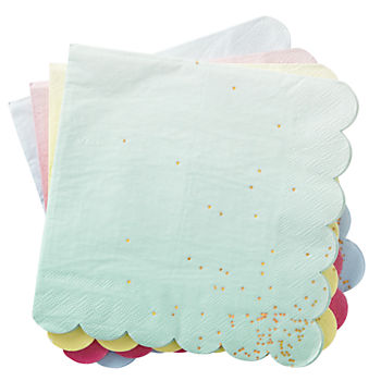 Ombre Party Napkins (Set of 16)