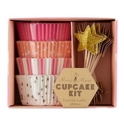 Toot Sweet Pink Cupcake Kit (Set of 48)