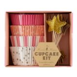 Toot Sweet Pink Party Cupcake Kit