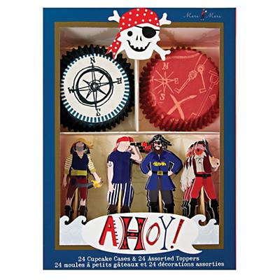 Ahoy Pirate Cupcake Kit