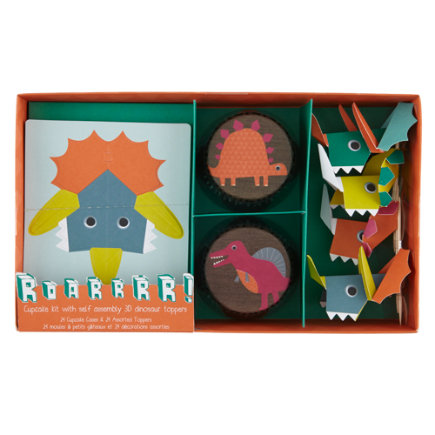 Dinosaur Party Cupcake Kit