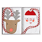 Santa and Reindeer Gift Tags (Set of 8)