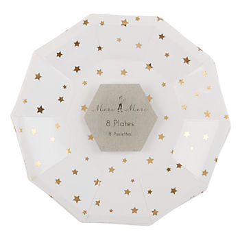 Toot Sweet Gold Star Plates (Small)