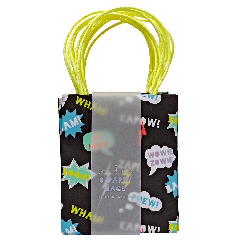 Superhero Party Bags (Set of 8)
