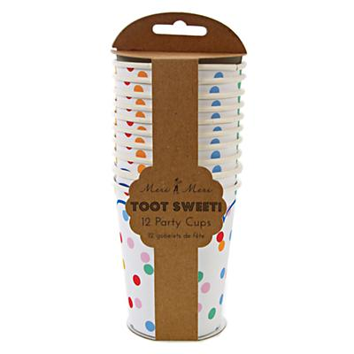 Toot Sweet Party Cups (Set of 12)