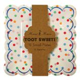 Toot Sweet Party Plates (Set of 12)