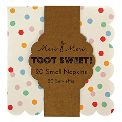 Toot Sweet Small Party Napkins (Set of 20)