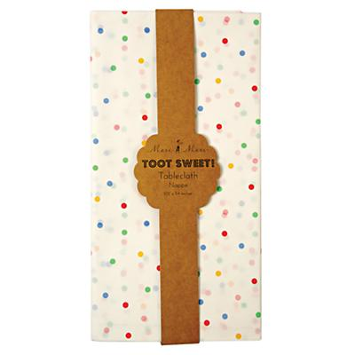 Toot Sweet Party Tablecloth