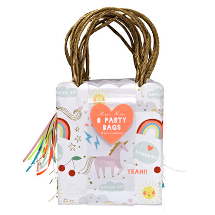 Unicorn Party Bags (Set of 8)