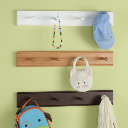 Ladybug Wall Peg - Set of Two by Wish Upon A Star, Wall Hooks