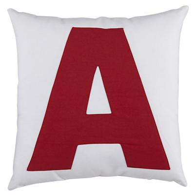 "ABC ""A"" Pillow"
