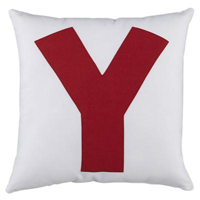 """ABC """"Y"""" Pillow"""
