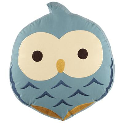 Honey Bunny Throw Pillow (Owl)