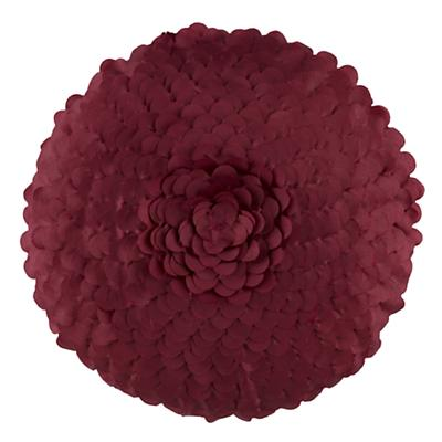Ruffled Petal Throw Pillow