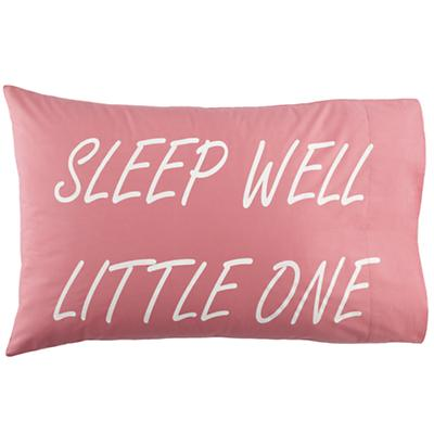 Sleep Well Pillowcase (Pink)
