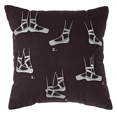 Ballet Feet Throw Pillow