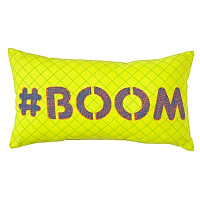 Boom Throw Pillow