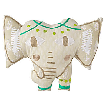 Safari Elephant Pillow