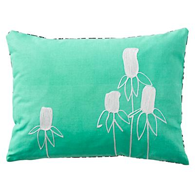 Simple Flower Throw Pillow