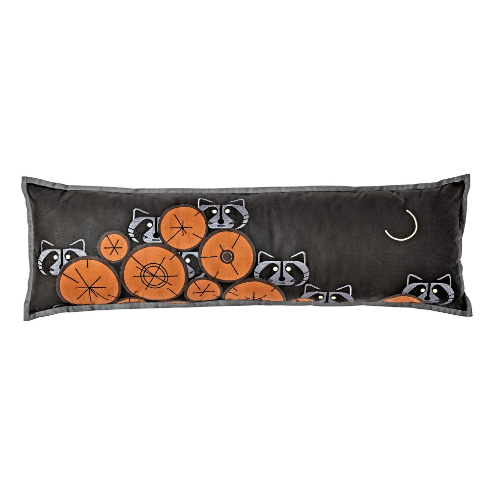 Charley Harper Raccoon Pillow