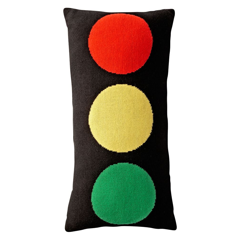 Stop Light Throw Pillow
