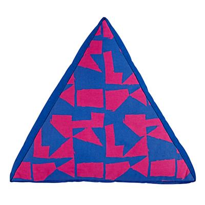 Jenny Pennywood Triangular Throw Pillow