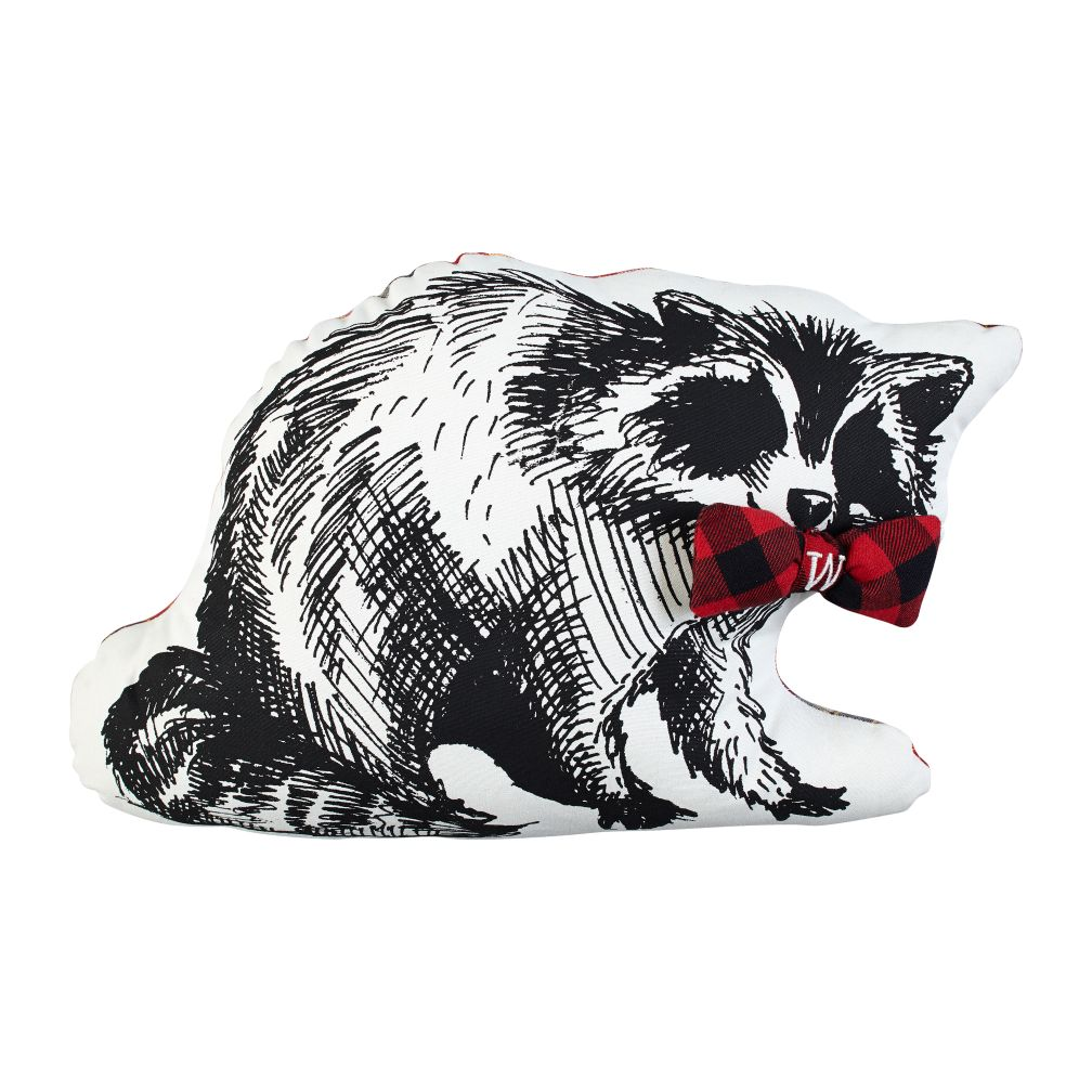 Dapper Raccoon Pillow
