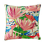 Flower Garden Throw Pillow.