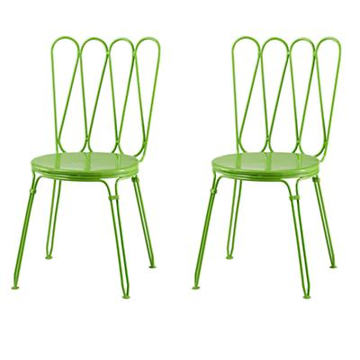 Lime Looking Glass Play Chairs (Set of 2)