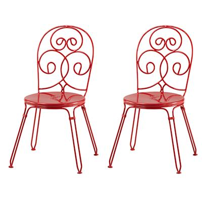 Raspberry Looking Glass Play Chairs (Set of 2)