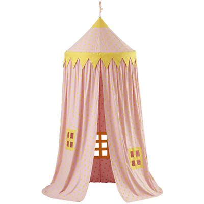 Home Sweet Play Home Canopy (Pink Polka Dot)