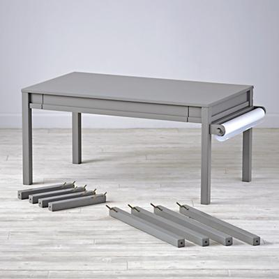Complete Adjustable Grey Activity Table Set