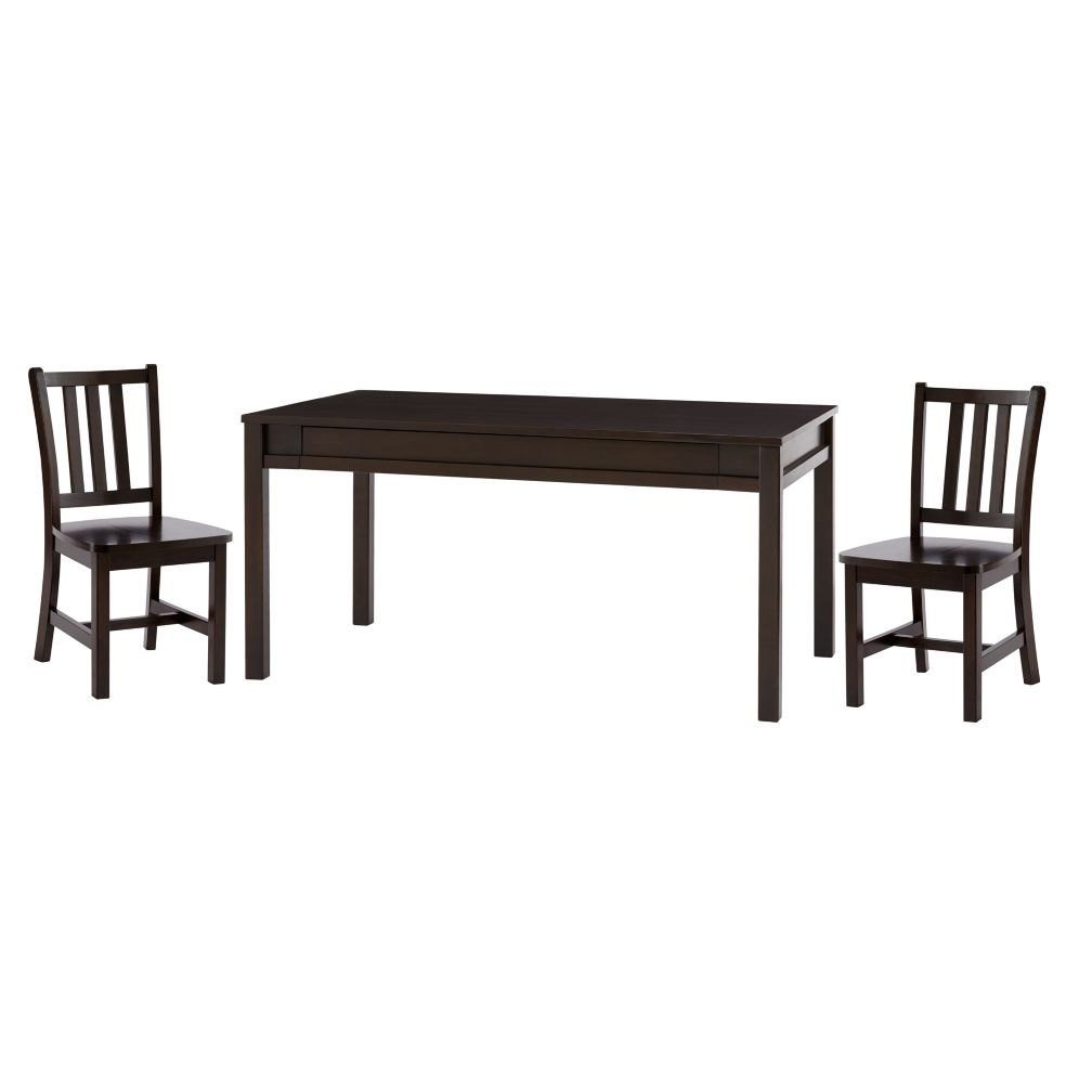 Adjustable Activity Table & 2 Parker Play Chairs (Java)