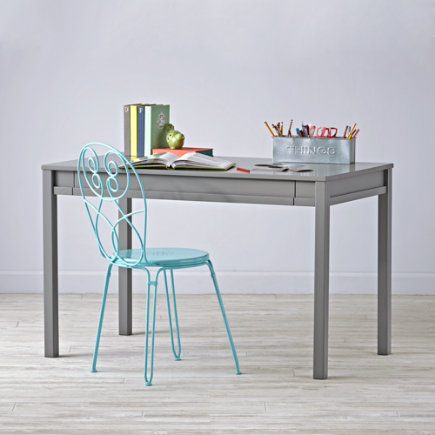 Large Adjustable Activity Table (Grey) - Complete Adjustable Grey Activity Table Set
