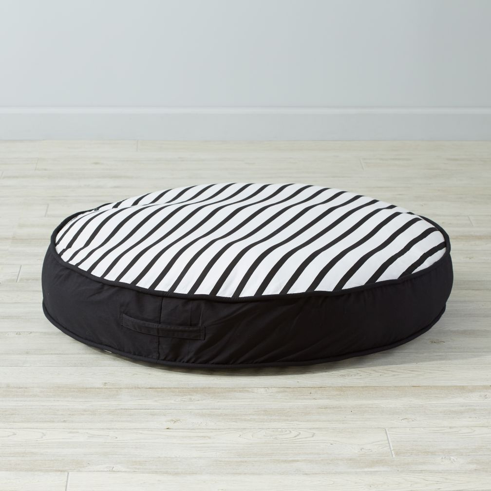 Floor Cushion (Black and White)