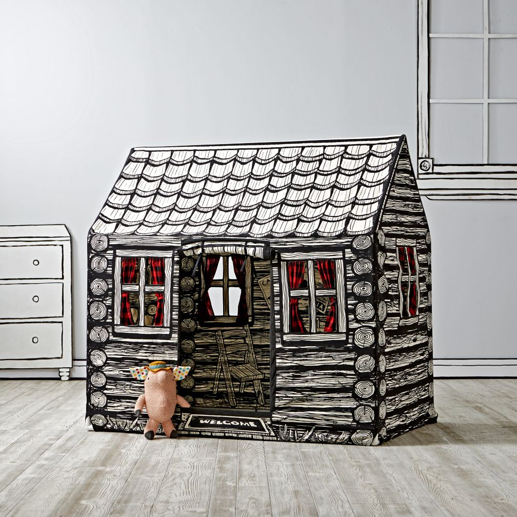Log Cabin Playhouse