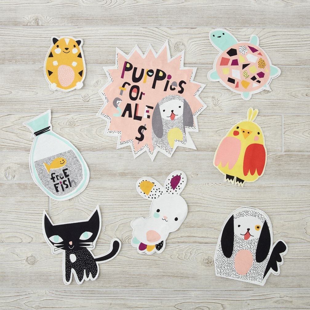 Decorate-a-Teepee Pet Shop Patches